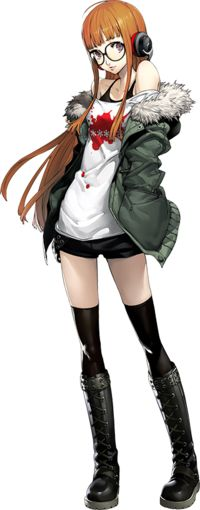 Futaba Sakura is a playable character from Persona 5. Futaba is a bespectacled girl with long bright orange hair and purple eyes. She wears…