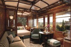 Viagem no trem de luxo Orient-Express: como será a suíte Paris By Train, Train Car, Train Travel, Train Rides, Train Trip, California Zephyr, Home Design, Interior Design, Eclectic Design