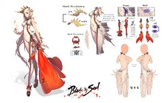 NCsoft held a costume design for Blade & Soul a couple of months back, and the results were announced recently. Description from mmoculture.com. I searched for this on bing.com/images