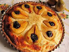 Gotowanie jest łatwe: Tarta z puszystym serkiem i gruszkami Desserts, Food, Pies, Tailgate Desserts, Deserts, Essen, Postres, Meals, Dessert