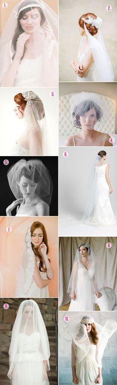 Roundup: Wedding Veils A Practical Wedding: Blog Ideas for the Modern Wedding, Plus Marriage