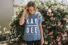 Kappa Delta | KD | Simple Design | KAY DEE | South by Sea | Greek T-Shirts | Greek Tank | Custom Greek Apparel | Sorority T-Shirts | Sorority Tanks | Sorority Shirt Designs | Sorority Recruitment | Sorority PR Shirt