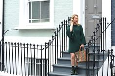 Spring Greenery and Finery London - The Sequinist