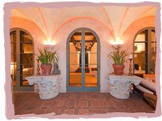 patio doors at La Quinta. Diandra Douglas' house in Montecito, California via have some decorum