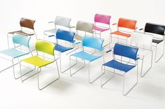 Harter Sling Chairs For more information or pricing, contact info@corporatedesigninteriors.com
