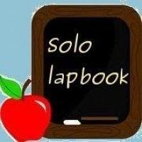 sito con materiali per lapbook