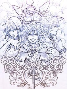 kingdom of hearts by *sooj on deviantART
