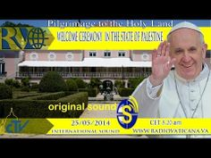 Welcome Ceremony for the Pope in the State of Palestine. - YouTube