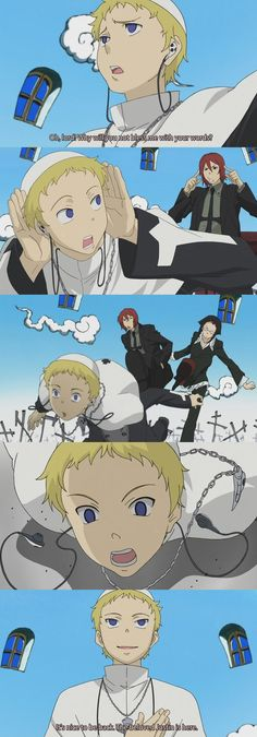 Justin law why you so funny lol. Soul Eater