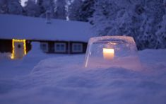 Outdoor, North Pole, Diy, Basteln, Advent Calendar, Ice, Weihnachten, Tutorials, Decorations