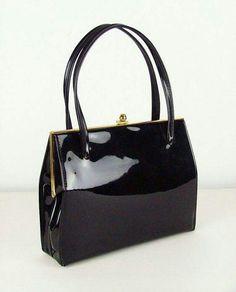 Black Patten Leather