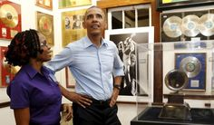 Pres. Obama Pays Respect To Bob Marley In Jamaica