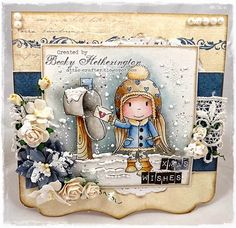 Cards By Becky: Paper Nest Dolls Winter Blog Hop