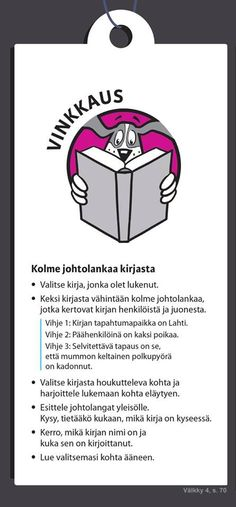 Välkky; kirjavinkkaus Sanoma Pro Teaching Literature, Time Management Tips, Book Projects, Resume Examples, Make Time, Primary School, Reading Comprehension, Language, Teacher