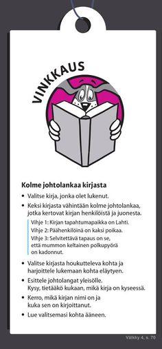 Välkky; kirjavinkkaus Sanoma Pro