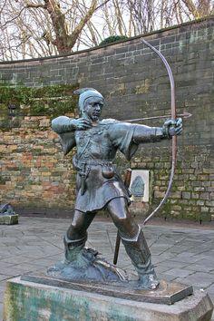 Monumento a Robin Hood en Nottingham