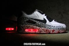 Light Up Shoes for Grown Up Adults Men Women | LED Sneakers – Evolved Footwear Custom Light Up Shoes