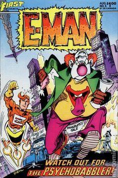 E-Man Comics (1983 First) 5 __UN__
