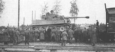 First Tigers arrive on the Eastern Front - Mga station, Leningrad Front, August Tiger Ii, Mg 34, Ferdinand Porsche, Photo Dump, Tiger Tank, Battle Tank, Panzer, Skin So Soft, World War Two