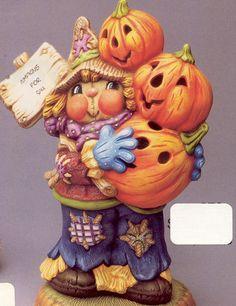 ceramic bisque pumpkins | WRIV970