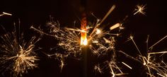 Sparklers bring back so many memories as a child. Have a peek at what they look like when shot by macro photography.