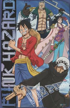 One Piece Wall Scroll - Luffy, Law, Tashigi & Smoker Watch One Piece, One Piece Series, One Piece 1, One Piece Luffy, One Piece Anime, One Piece Quotes, Smash Or Pass, The Pirates, Graphic Novel Art