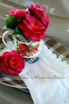 Very pretty...Valentine's Day Place Setting