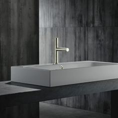 AXOR Uno 80 Zero Handle Basin Mixer Tap