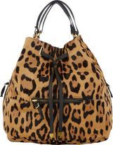 Jerome Dreyfuss Haircalf Alain Bucket Bag