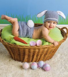 FREE--bunny hat and diaper cover