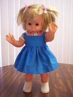 1960's dolls   1960's Doll Baby First Step Walking Doll by CraftTree on Etsy