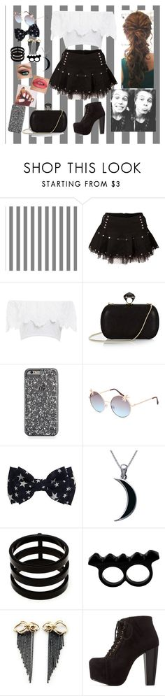 """Date W/ Luke Hemmings"" by marine081698 ❤ liked on Polyvore featuring Nightcap, Diane Von Furstenberg, Full Tilt, Carolina Glamour Collection, Repossi, L'Artisan Créateur, Rachel Entwistle and Charlotte Russe"