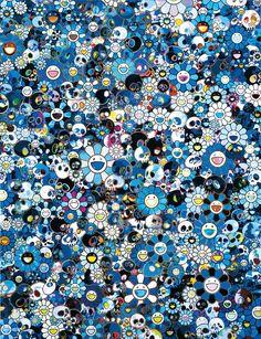 Takashi Murakami, Flowers and Skulls class=