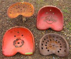 166 Best Antique Old Tractor Seats Images Tractor Seats