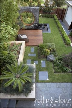 55 Small Garden and Landscaping Design for Small Backyard Ideas is part of Modern backyard landscaping - You might think that keeping a small yard open and loosely planned would make it feel bigger, but the opposite is true The key to Backyard Garden Design, Small Backyard Landscaping, Modern Landscaping, Landscaping Ideas, Backyard Ideas, Backyard Designs, Desert Backyard, Walkway Ideas, Diy Garden