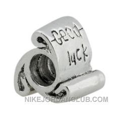 http://www.nikejordanclub.com/pandora-good-luck-scroll-silver-bead-clearance-sale-copuon-code.html PANDORA GOOD LUCK SCROLL SILVER BEAD CLEARANCE SALE COPUON CODE Only $22.66 , Free Shipping!