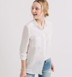 Koszula damska ecru - Promod
