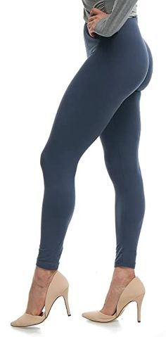 PLUS SIZE SEAMLESS Footless Tight Warm Thick Stretchy Fleece Legging 2XL//3XL