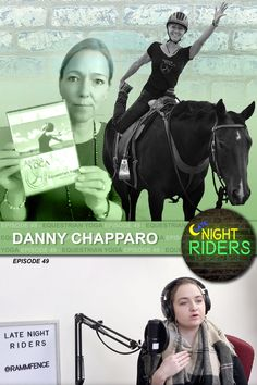 Late Night Riders #49 - Danny Chapparo: Equestrian Yoga - @YouTube | In this episode, we talk with Danny Chapparo! She is the owner and founder of Ashva Yoga in Castle Rock, Colorado. Danny is a certified yoga teacher, teaching Equestrian Yoga with and on the horse. Her style is energetic and enthusiastic and reflects her experience in various styles of yoga, with a strong emphasis on proper alignment. #latenightriders #equestrian #podcast #horses #yoga #equestrianyoga