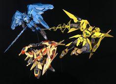 ¿Cómo se verían los Gundam al estilo Pokémon