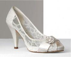 zapatos de novia tacón doriani