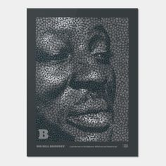 Five Icons of american music history dealt with five typographic works of The portraits are made out of the Letters B Letter B, Making Out, Musicians, Blues, Portraits, Icons, Art Prints, History, American