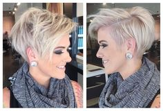 on IG! kurzhaarfrisure The post THIS! on IG! appeared first on Kurzhaarfrisuren. Mom Hairstyles, Short Hairstyles For Women, Pretty Hairstyles, Short Hair Cuts For Women Pixie, Pixie Haircut For Thick Hair, Haircut Short, Fashion Hairstyles, Simple Hairstyles, Pixie Cut
