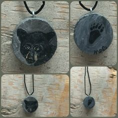 Black Bear Necklace Pendant Jewelry Men Women by TheBackyardBear Black Bear, Pendant Jewelry, Trending Outfits, Store, Unique Jewelry, Handmade Gifts, Etsy, Vintage, Women