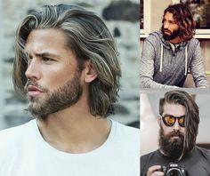 Collage di tre uomini con capelli lunghi 17576ee7701c