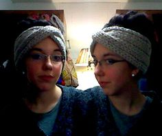 Knit Turban Headband Pattern (inspired by Eugenia Kim design)