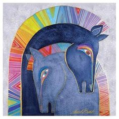 We carry so many Laurel Burch products! We stock thousands of Laurel Burch designs on all kinds of wonderful items. Laurel Burch, Canvas Wall Art, Wall Art Prints, Canvas Prints, Fantasy Character, Horse Drawings, Horse Sculpture, Colorful Artwork, Painted Horses