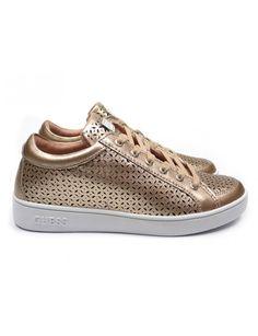 7f23a5ac589 Guess Glinna sneakers - roze vind je Emmen schoenen de (online) winkel voor  mooie