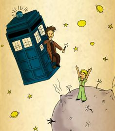 #doctorwho #drwho #thedoctor #davidtennant #thelittleprince #littleprince #children #childrensbook #tv #televisionshow #tardis #thetardis