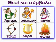 Ελένη Μαμανού: Πίνακες Αναφοράς - Θεοί και Σύμβολα